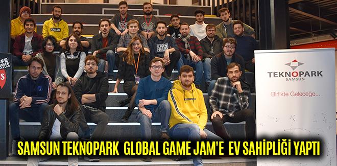 SAMSUN TEKNOPARK GLOBAL GAME JAM'E EV SAHİPLİĞİ YAPTI