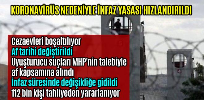 Uyuşturucu suçları MHP'nin talebiyle af kapsamına alındı