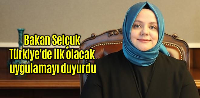 Bakan Selçuk, Türkiye'de ilk olacak uygulamayı duyurdu