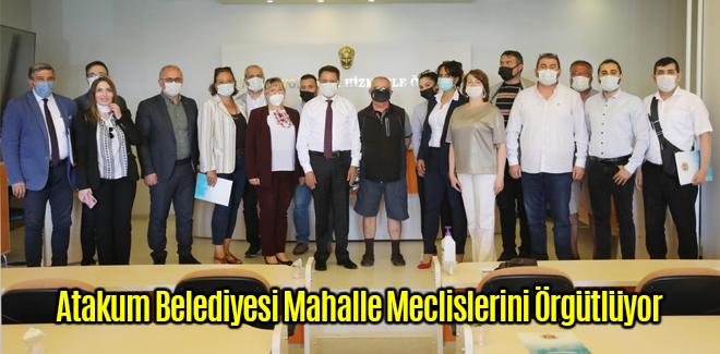 Atakum Belediyesi Mahalle Meclislerini Örgütlüyor