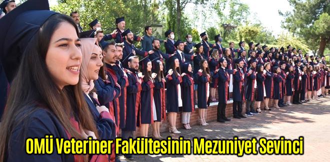 OMÜ Veteriner Fakültesinin Mezuniyet Sevinci