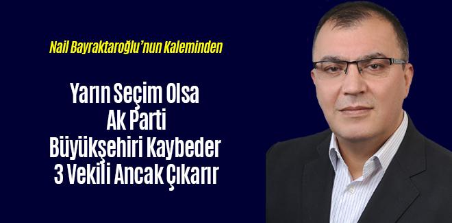Yarın Seçim Olsa Samsun Büyükşehiri Kaybeder 3 Vekili Ancak Çıkarır