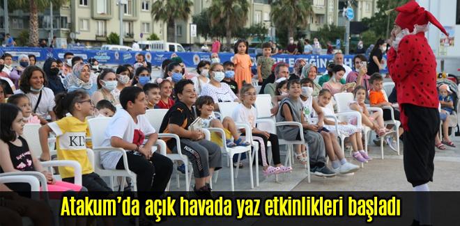 Atakum'da açık havada yaz etkinlikleri başladı