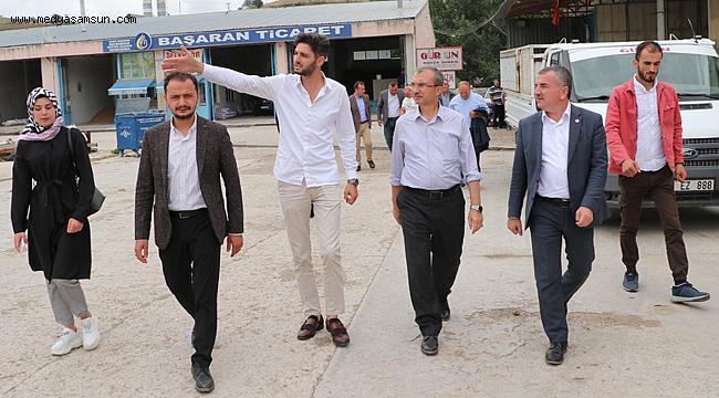 Ak Parti Samsun Milletvekili Orhan Kırcalı Havzalılarla bir araya geldi