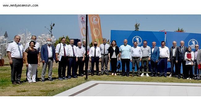 Samsun'un eğitim ve sanayi önderleri bu toplantıda buluştu
