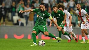 Bursaspor Samsunspor'u ezdi geçti