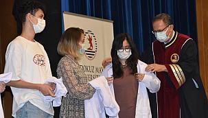 OMÜ Tıp Fakültesi 2021-2022 Eğitim ve Öğretim Yılı Törenle Açıldı