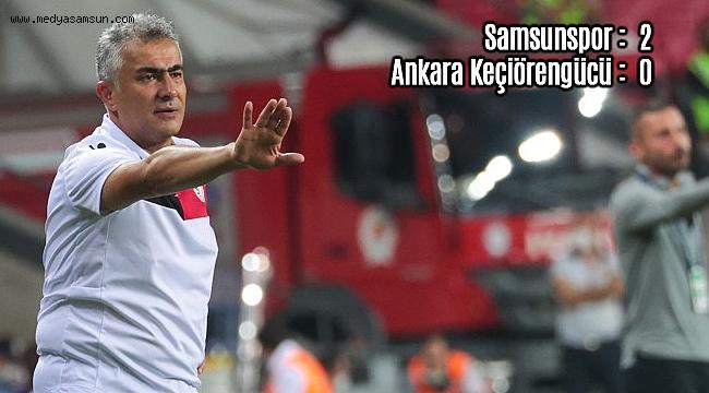 Samsunspor Teknik Direktörü Altıparmak'tan maç sonu açıklaması