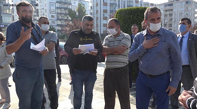 Kağıt toplayıcılarının mültecilerle mücadelesine Atakum Belediyesinden destek