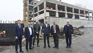 Köktaş ve Togar Tekkeköy'ye yapılan yatırımları inceledi