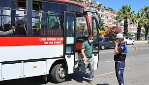 Samsun'da kurallara uymayan 2 bin 775 toplu taşıma aracına ceza kesildi